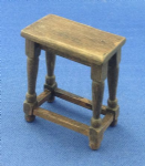 268. Tudor Stool (turned legs)